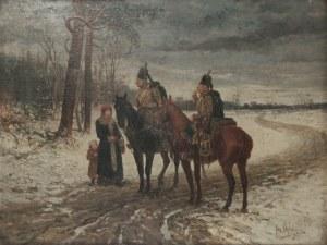 Jan Chełmiński, Spotkanie na drodze