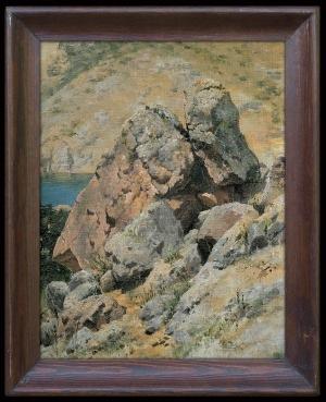 Ruszczyc Ferdynand, SKAŁY NADMORSKIE, 1895
