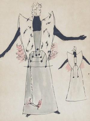 Tadeusz BRZOZOWSKI (1918-1987), Projekt kostiumu