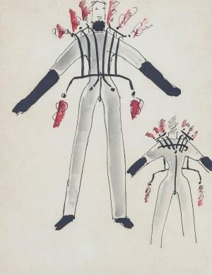 Tadeusz BRZOZOWSKI (1918-1987), Projekt kostiumu II