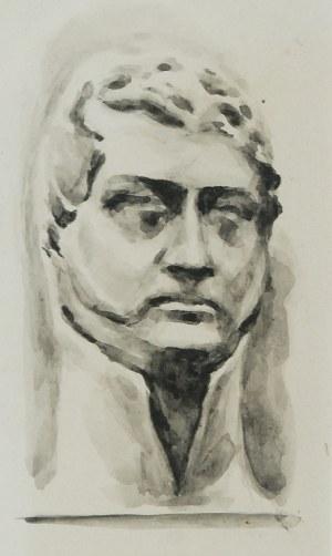 Józef PANKIEWICZ (1866-1940), Głowa męska