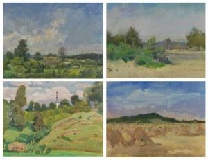 Juliusz KRAJEWSKI (1905-1992), Cztery obrazy