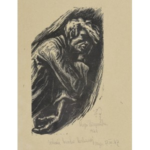 Maria HISZPAŃSKA-NEUMANN (1917-1980), Zamyślony, 1946