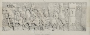 Gottfried ENGELMANN (1788-1839), Wjazd Franciszka I i Henryka VIII - [Entrevue de Francois 1er et de Henry VIII] - według Jean-Honoré Fragonard