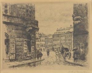 Tadeusz CIEŚLEWSKI, syn (1895-1944), Stare miasto, 1935