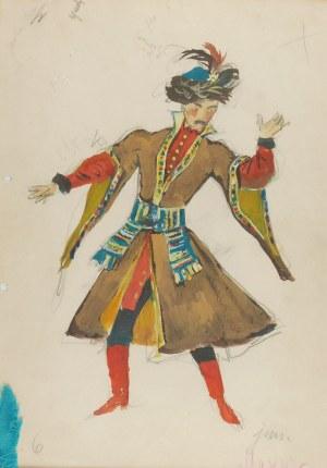 Jan Marcin SZANCER (1902-1973), Mazur - projekt kostiumu