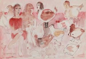 Tomasz KAZIKOWSKI (ur. 1952), Les poularies, 1990