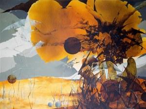 Andrzej Śramkiewicz (ur. 1951 Gdańsk), Kompozycja żółta, 1993/1994