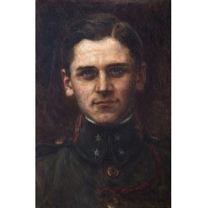 Józef Męcina-Krzesz (1860-1934), Portret mężczyzny