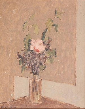 Bencion(Benn) Rabinowicz (1905 Białystok - 1989 Paryż), Kwiaty w wazonie