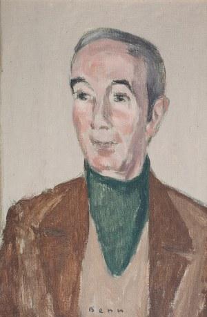 Bencion(Benn) Rabinowicz (1905 Białystok - 1989 Paryż), Portret mężczyzny