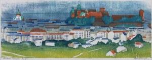 Adam Bunsch (1896 Kraków - 1963 tamże), Kraków, 1947 r.