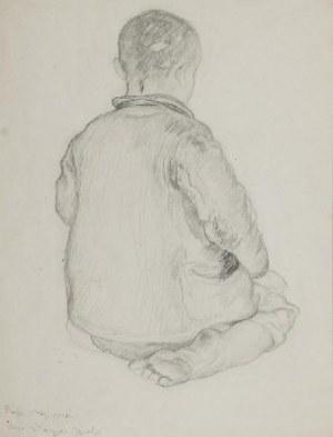 WŁADYSŁAW JAROCKI (1879-1965), Siedzący chłopiec