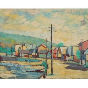 ALOJZY SIWECKI (1912-1988), Pejzaż miejski