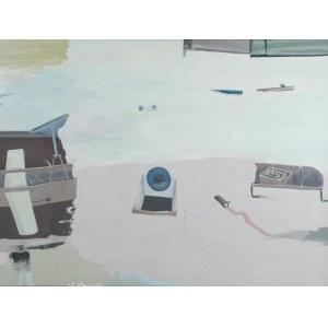 JULIUSZ NARZYŃSKI (UR. 1934), Tu i jesień pełna tajemnic, 2015