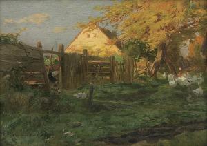 Kochanowski Roman, ZAGRODA, OK. 1910