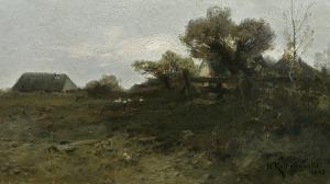 Kochanowski Roman, PEJZAŻ O ZMIERZCHU, 1893