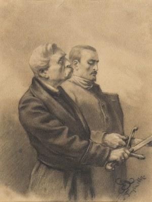 Artur GROTTGER (1837-1867), Przysięga, 1867