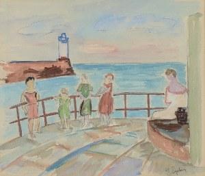 Henryk EPSTEIN (1890-1944), Na wybrzeżu