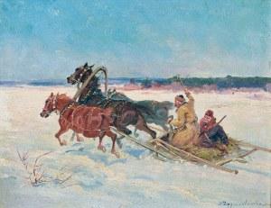 Ignacy ZYGMUNTOWICZ (1875-1947), Zaprzęg