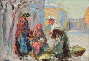 Erno ERB (1890-1943), Przekupki na targu