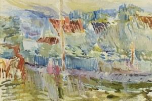 Jan CYBIS (1897-1972), Stary Sącz XXXV, 1957