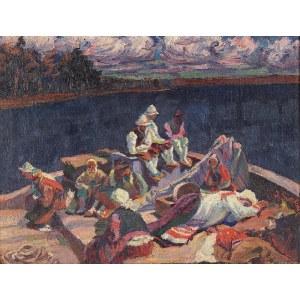 Józef SZCZĘSNY (1885-1968), Odpoczynek