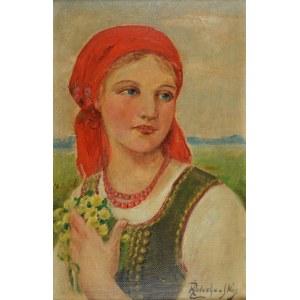 Kasper ŻELECHOWSKI (1863-1942), Dziewczyna z kaczeńcami