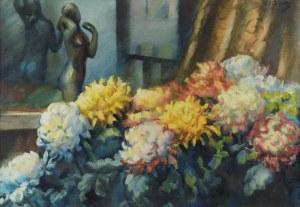 Teodor GROTT (1884-1972), Chryzantemy