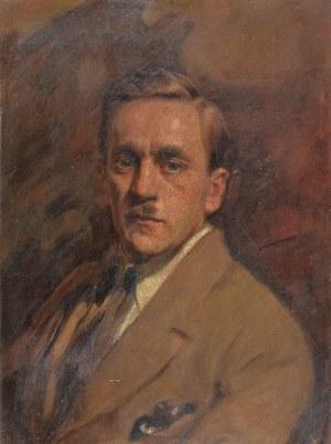 Bolesław BARBACKI (1891-1941), Portret mężczyzny - Autoportret artysty, ok. 1940