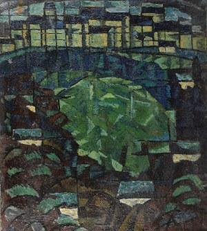 Krystyn ZIELIŃSKI (1929-2007), Panorama Sandomierza, 1955