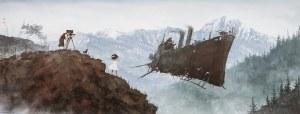 Jakub RÓŻALSKI (ur. 1981), Fantastyczny statek w górach