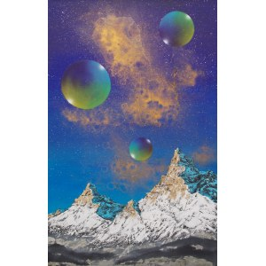 Robert Piasecki, Once Upon a Mountain's Dream, 2019