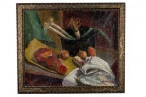 Abraham Weinbaum (1890 Kamieniec Podolski - 1943 Sobibór), Martwa natura z warzywami