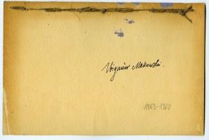 Zbigniew Makowski, Kompozycja, 1959-60