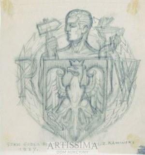 Zygmunt Kamiński (1888–1969), Godło Politechniki Warszawskiej*, 1927