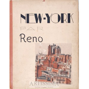 Irena (Réno) Hassenberg (1884–1953), Teka nr 1 – New York par Reno*