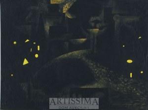 Urszula Broll (ur. 1930), Kompozycja abstrakcyjna, 1954*