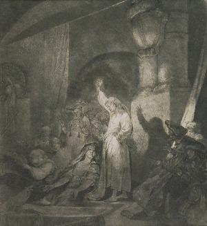 Jan Piotr NORBLIN de la GOURDAINE (1745-1830), Wskrzeszenie Łazarza