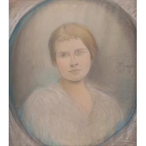 Michał ICHNOWSKI (1857-1915), La Bella Donna, 1915