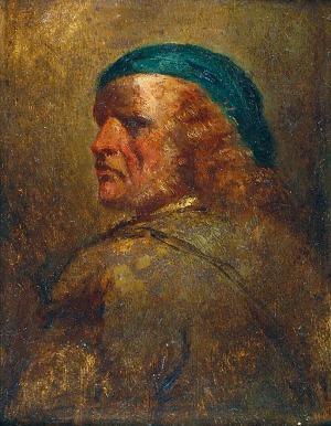 Jan Piotr NORBLIN DE LA GOURDAINE (1745-1830), Wizerunek własny?
