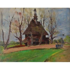 Stanisław DACZYŃSKI (1856 -?), Kościółek w Chabówce, 1929
