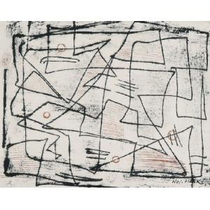 Wojciech Otton FLECK (1903-1972), Kompozycja abstrakcyjna
