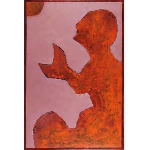 Jan Grzegorz ISSAIEFF (ur. 1953), A.R.C.H.E. - Walka Jakuba z aniołem, 2015