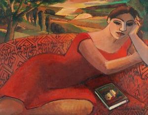 Anna KARPOWICZ-WESTNER (ur. 1951), Późne popołudnie, 2013
