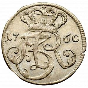 August III Sas, Trojak 1760 Gdańsk