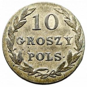 Królestwo Polskie, Aleksander I, 10 groszy 1822 IB