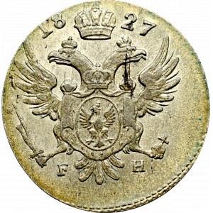 Królestwo Polskie, Mikołaj I, 5 groszy 1827 FH