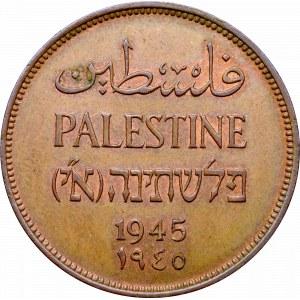 British Palestione, 10 mils 1943