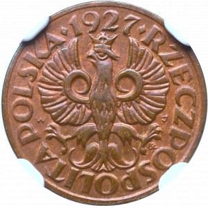 Second Polish Republic, 1 groschen 1927